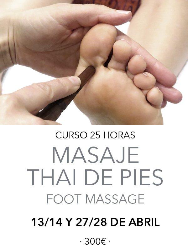 masaje podal tailandes